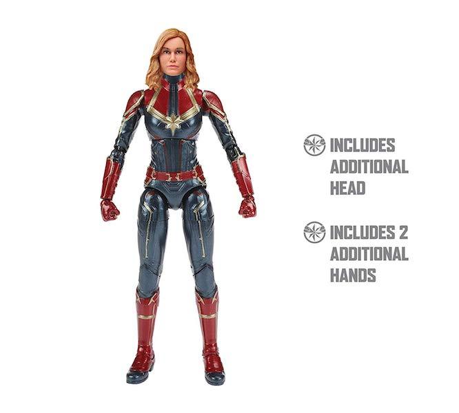"Captain Marvel Marvel Legends 6/"" Captain Marvel Action Figure Hasbro"