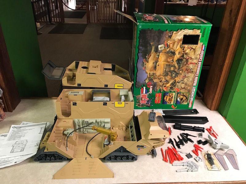 Kokomo Toys Ebay Store Vintage G I Joe Spy Troops 2003 Mobile Command Center