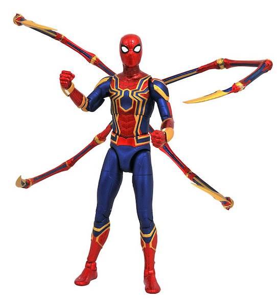 Картинки по запросу Marvel Select Figures - Avengers 3 Infinity War Movie - Iron-Spider