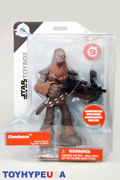 Star Wars Chewbacca #9 Action Figure Disney Toybox New store exclusive