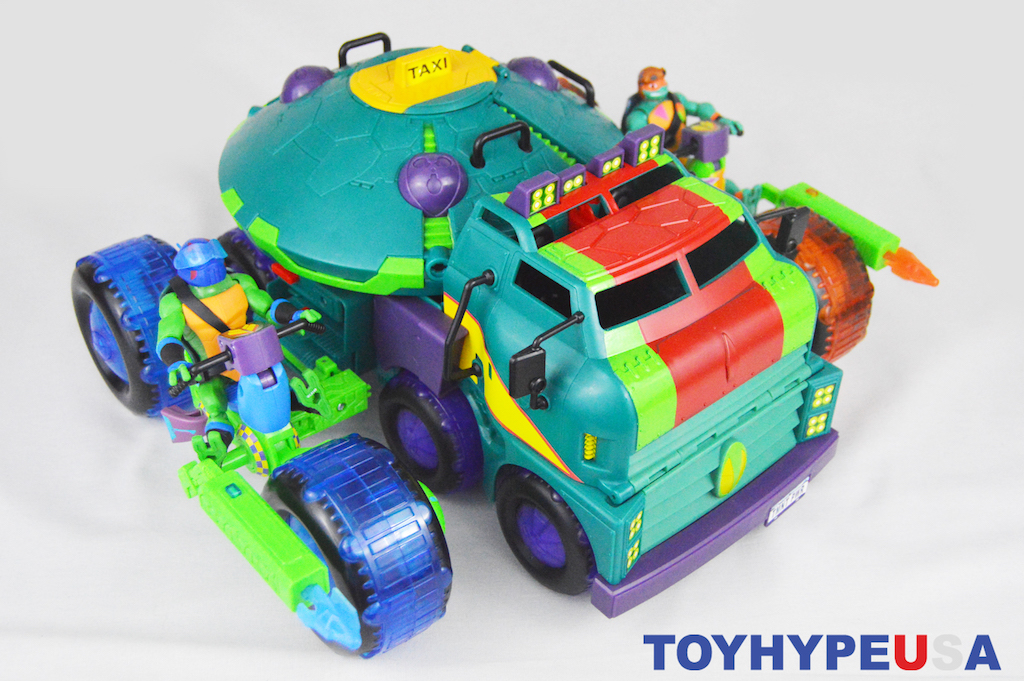 Playmates Toys Rise Of The Age Mutant Ninja Turtles Shell Hog Vehicles Review