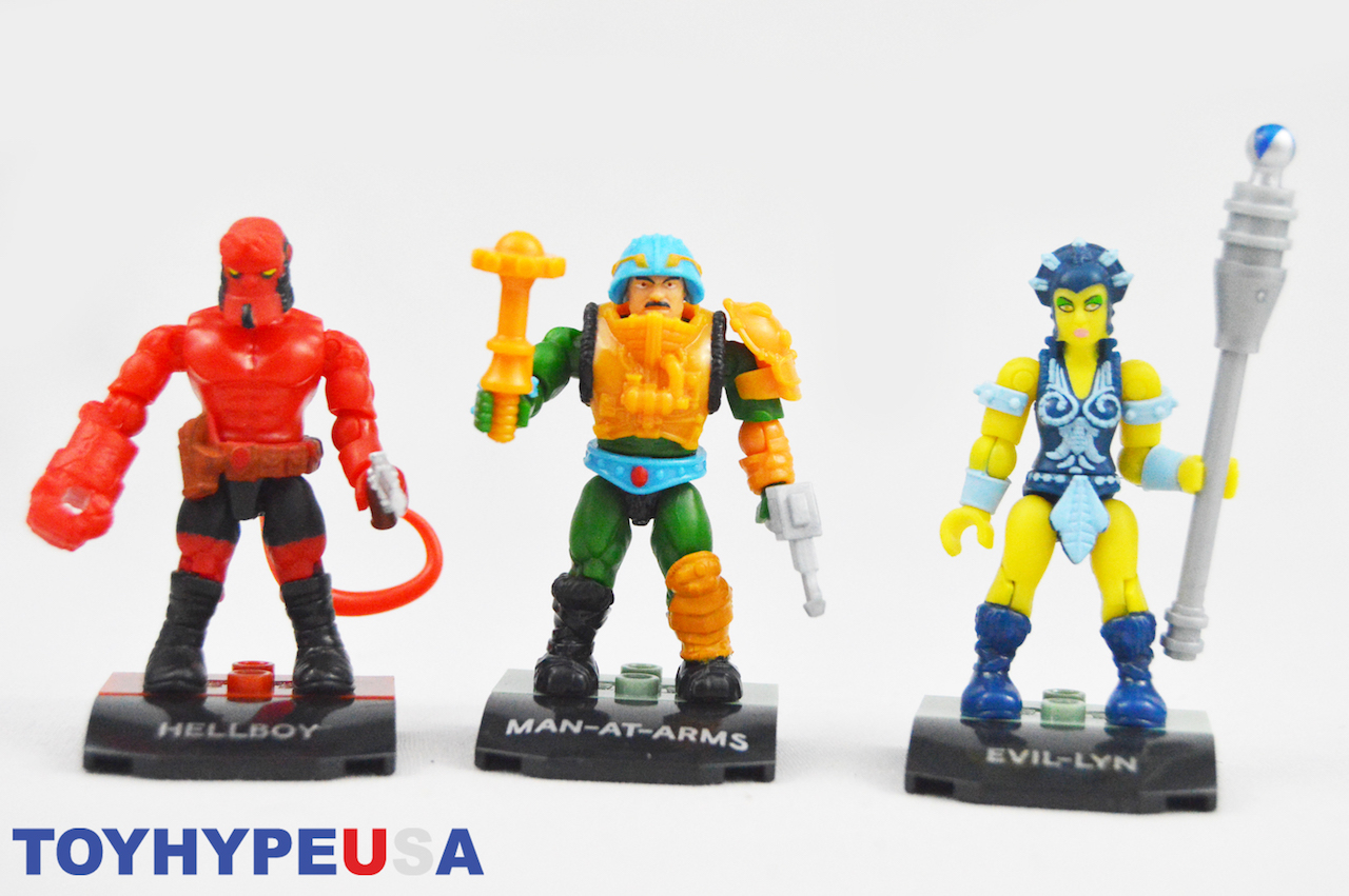 Mega Construx MCX Heroes Mini-Figure Series 4 Review