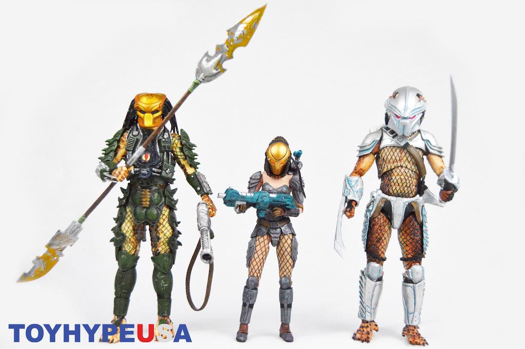 NECA Toys Predator Series 18 - Hornhead Predator, Broken
