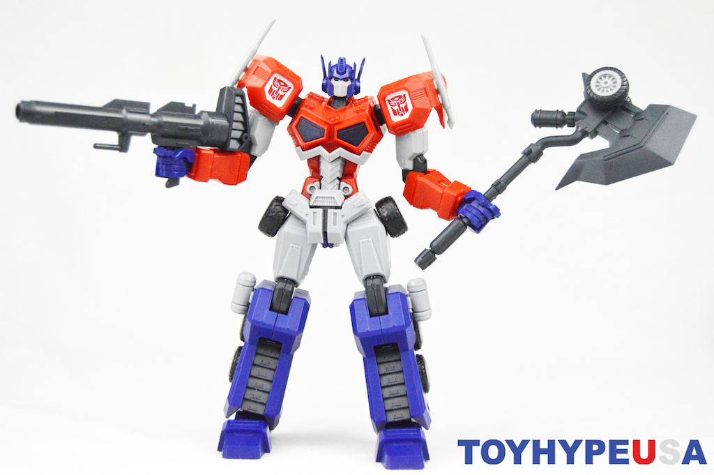 Flame Toys Transformers Optimus Prime Model Kit Figure Review