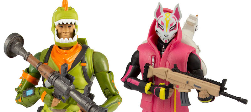 Mcfarlane Toys Fortnite Drift Rex Figures Revealed Toy Hype Usa
