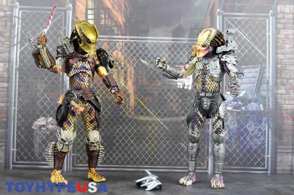 Predator Bad Blood Action Figure Ultimate Bad Blood e Enforcer Neca