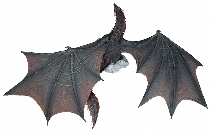 Game of Thrones Viserion Ice Dragon Deluxe Action Figure Box Preorder Aprile