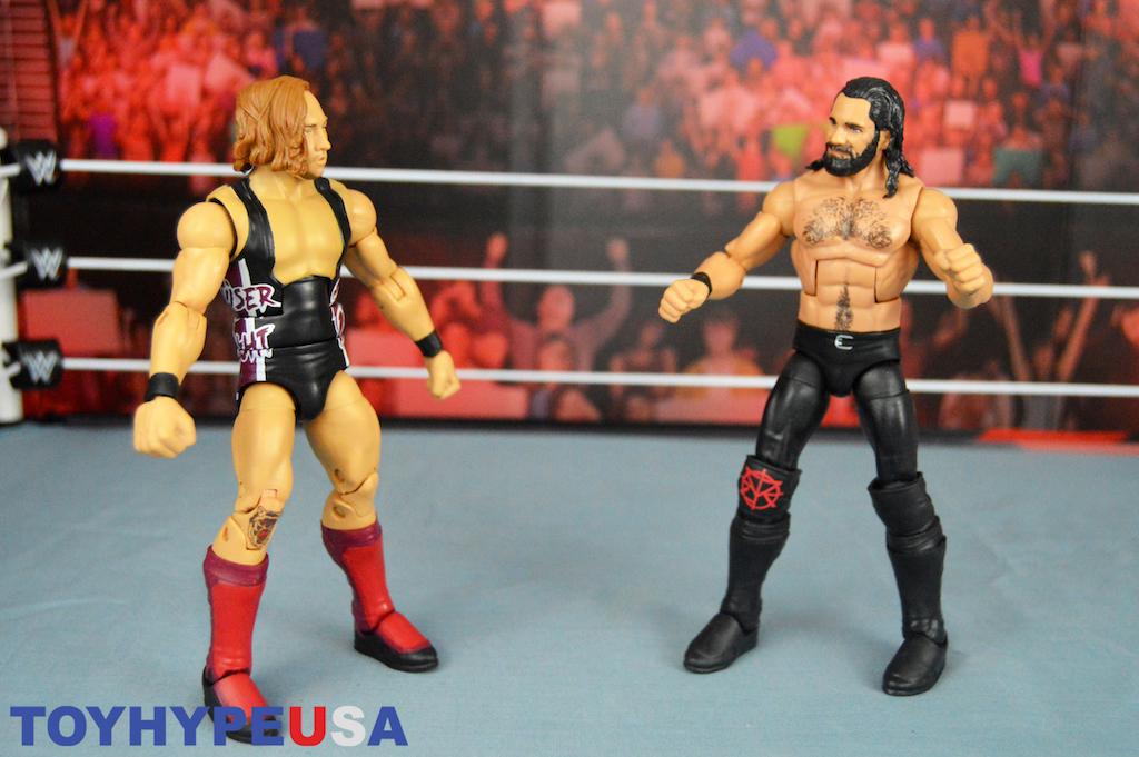 WWE Mattel Elite 63 64 Bob Backlund Pete Dunne Wal-Mart et Target exclusives