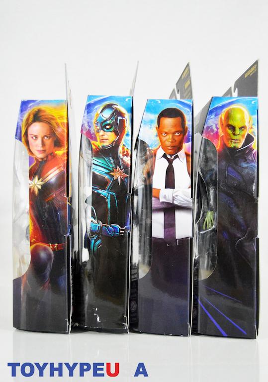 Hasbro #PagingCaptainMarvel - Promotional Movie Toys Box Set