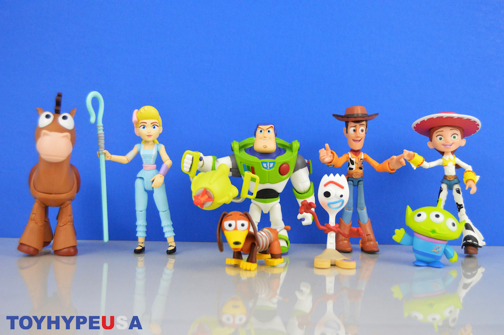 5511f08d253 Disney Store Exclusive – Pixar Toy Box Toy Story 4 Figures Review ...