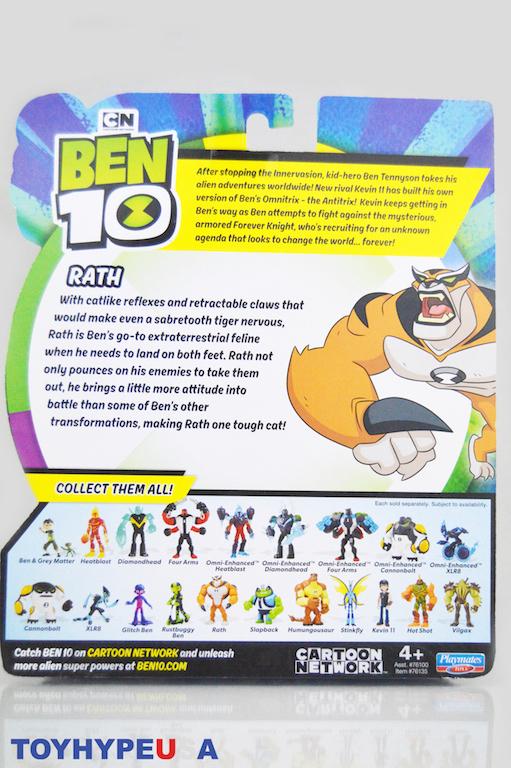 Playmates Toys Ben 10 - Kevin 11 & Rath Figures Review