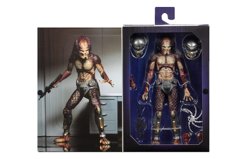"Predator - 7/"" Scale Action Figure – Ultimate Fugitive Predator NECA 2018"