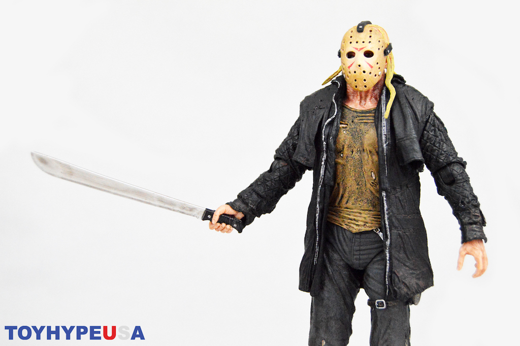 """Friday the 13th 2009 7/"""" Action Figure-Ultimate Jason Voorhees remake NECA"""