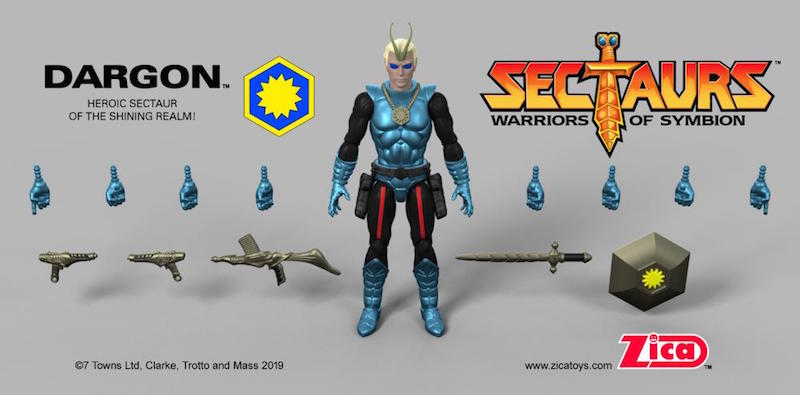 Sectaurs Zak by ZICA Toys