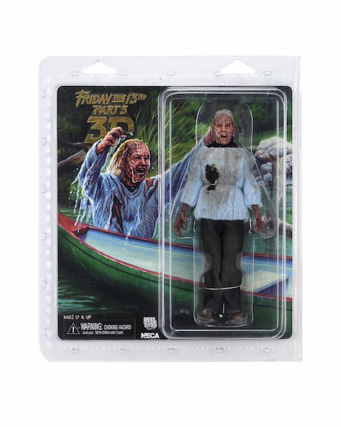 """NECA FRIDAY THE 13TH CORPSE PAMELA VOORHEES  8/"""" CLOTHED RETRO PRE-ORDER"""