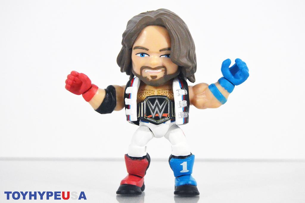 World Championship Belt WWE Loyal Subjects Action Vinyl Figure AJ Styles