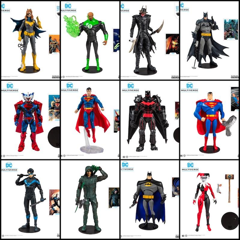 18 Art of the Crime PRE ORDER McFarlane Toys DC Rebirth Figura Build A Batgirl