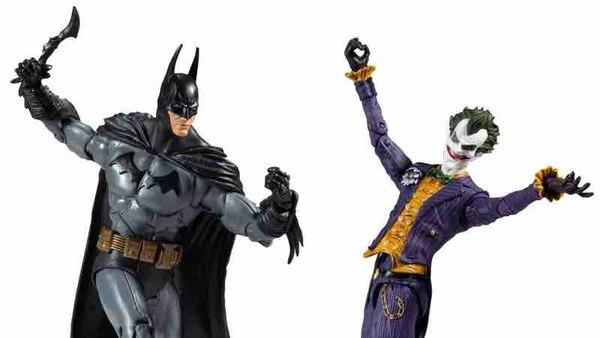 McFarlane DC Multi-Univers Arkham Batman Joker