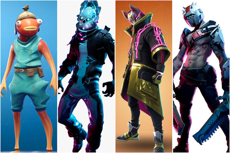 Fortnite Legendary Series Action Figures Jazwares Fortnite 6 Legendary Series Drift Eternal Voyager Fishstick X Lord Figures