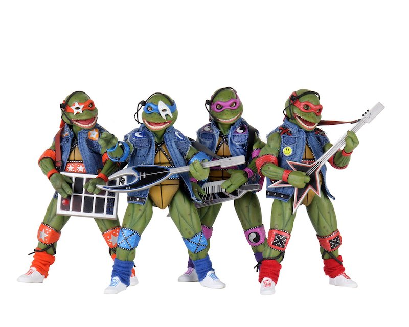 Neca Toys San Diego Comic Con 2020 Exclusive Teenage Mutant Ninja Turtles Box Set Announced