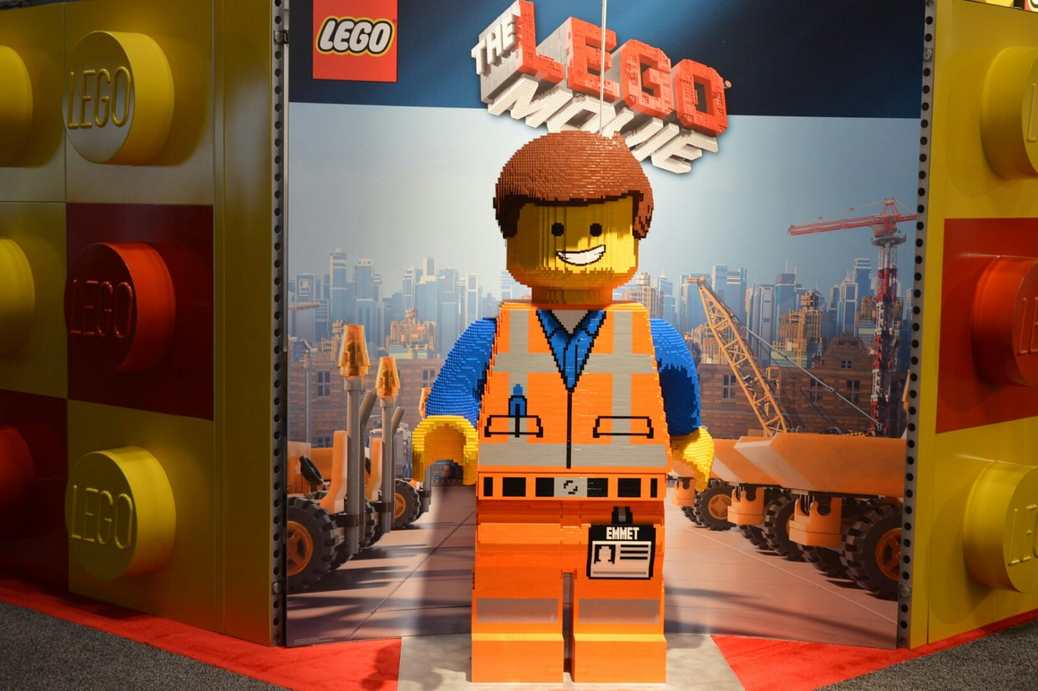 NYTF 2014 – LEGO Life-Size Movie Figure On Display
