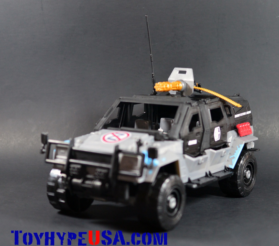 G.I. JoeCon 2014 Rescue Ops 4×4 Vamp Jeep Review