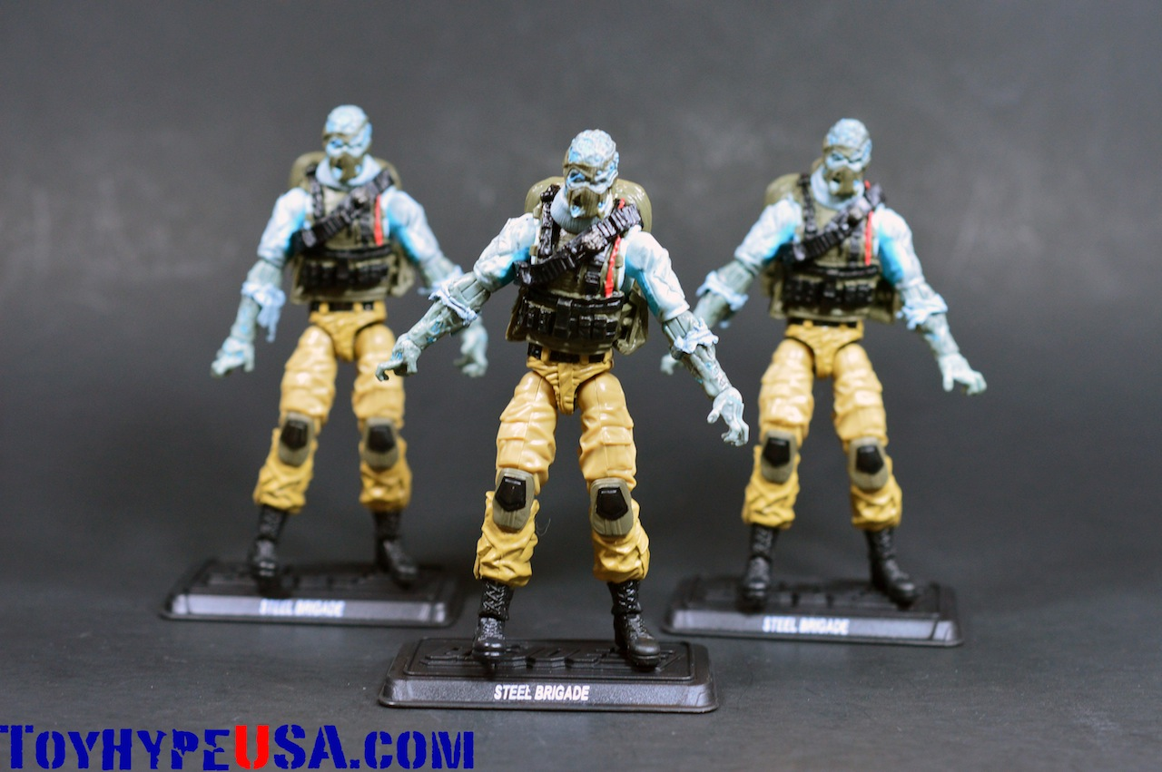 G.I. JoeCon 2014 Steel Brigade Zombie 3-Pack Review