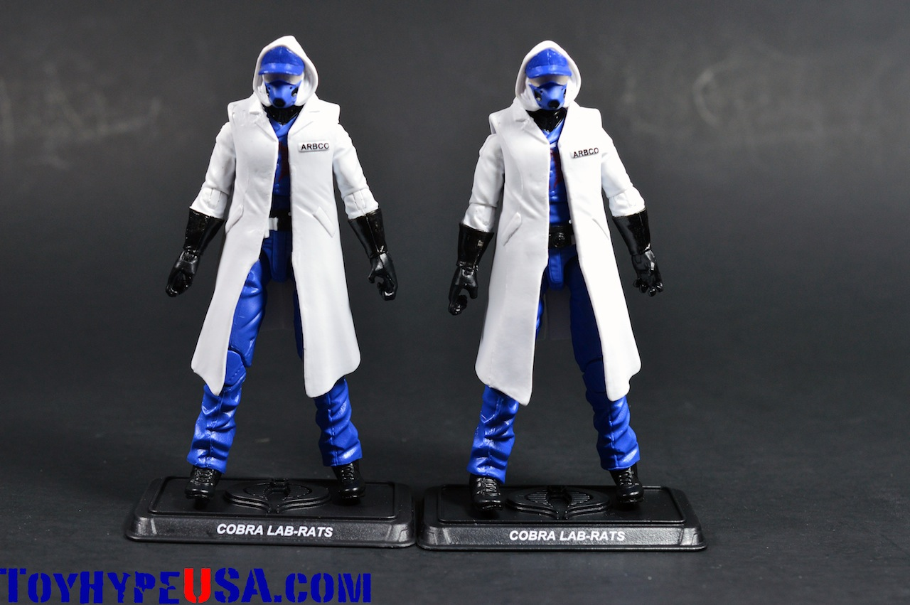 G.I. JoeCon 2014 Zombie Initiative Cobra Lab-Rats Review