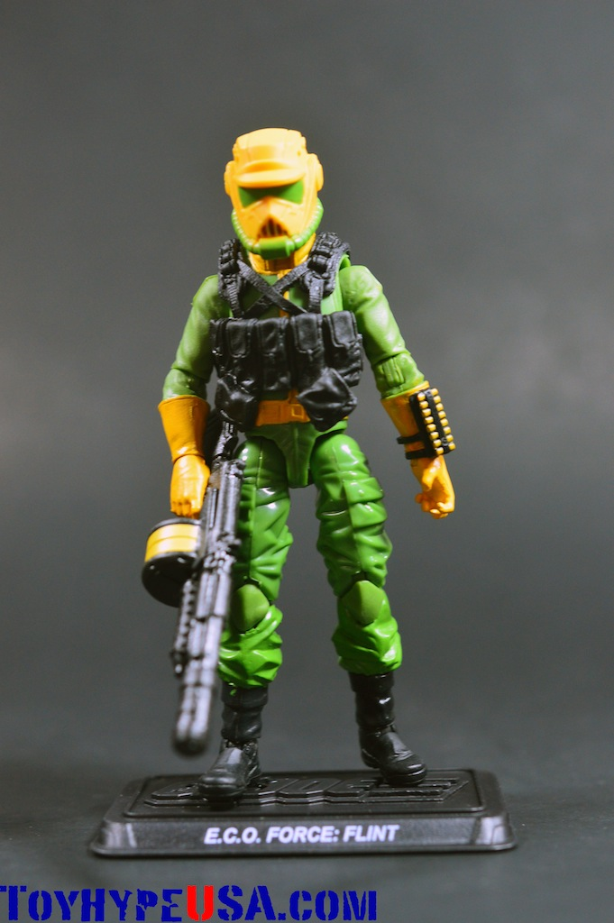 G.I. JoeCon 2014 Zombie Initiative E.C.O. Force Flint Review