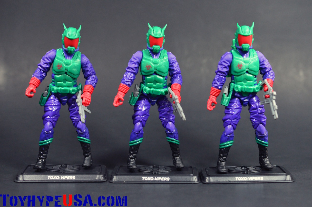 G.I. JoeCon 2014 Zombie Initiative TOXO-Viper Review