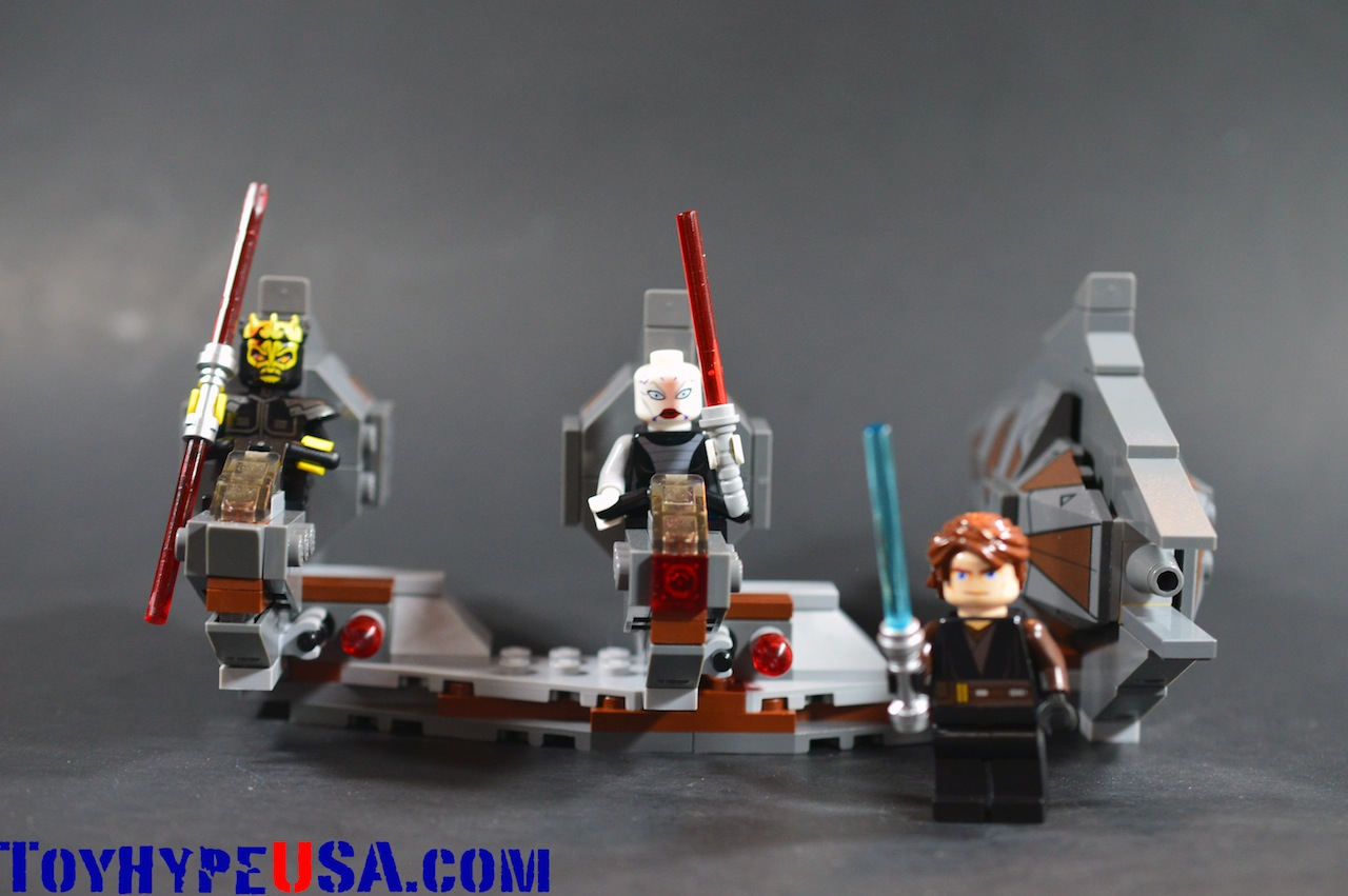 LEGO Star Wars 7957 Sith Nightspeeder Review