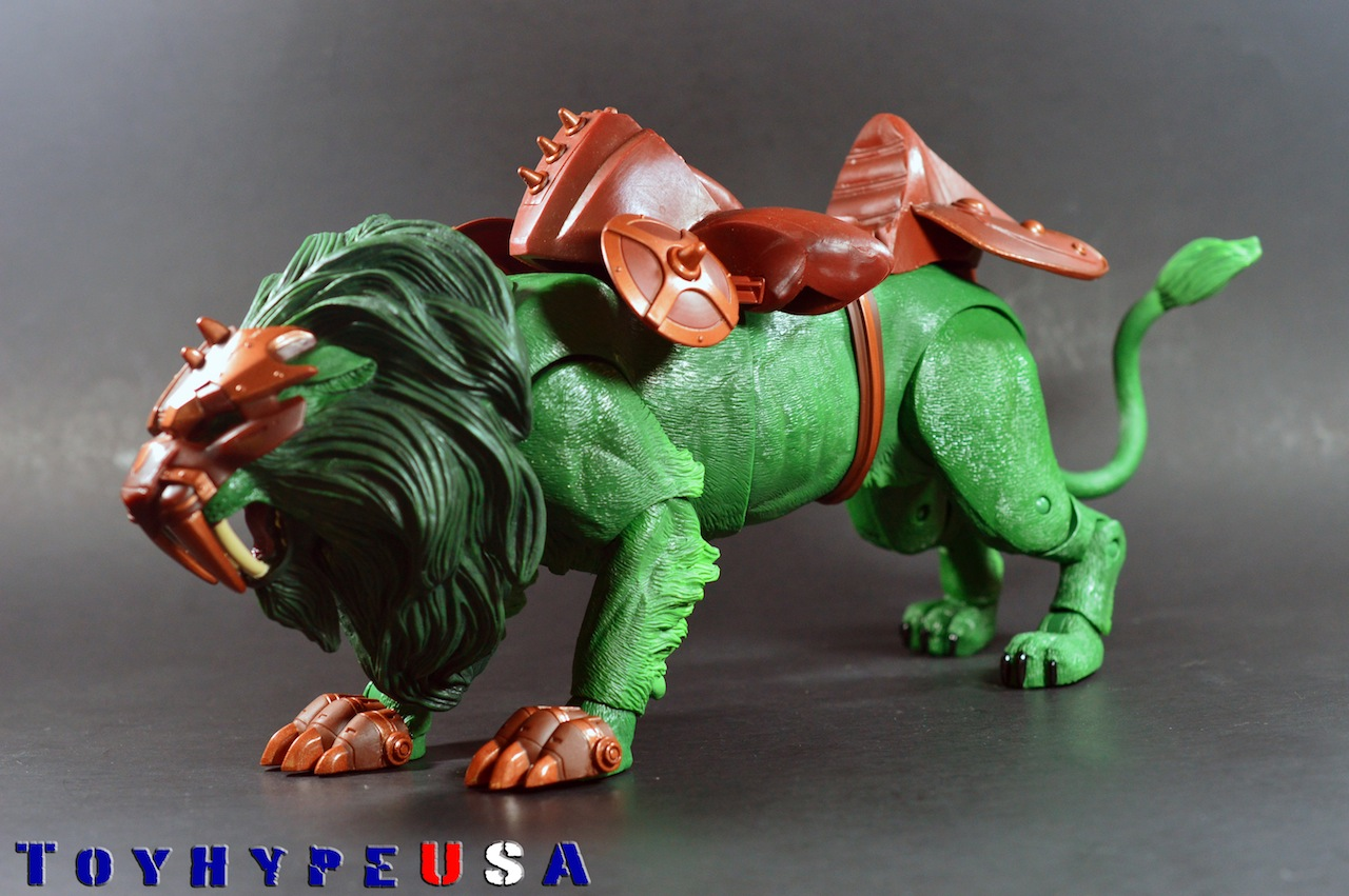 Masters Of The Universe Classics Battle Lion Review