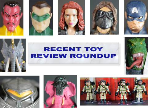 Recent Toy Review Roundup – DC Total Heroes, Marvel Legends Infinite Series, Seventh Kingdom, Ghostbusters Minimates, Marvel Select