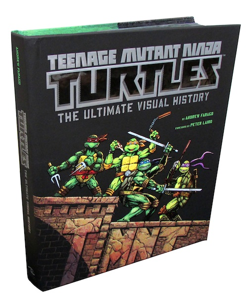 Teenage Mutant Ninja Turtles: The Ultimate Visual History Coming June 2014