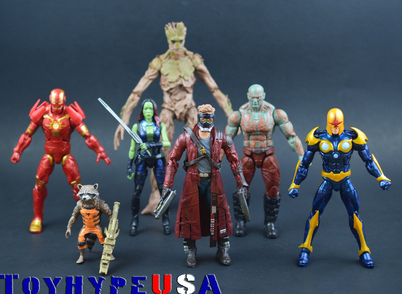 Guardians Of The Galaxy Marvel Legends Infinite Series Review