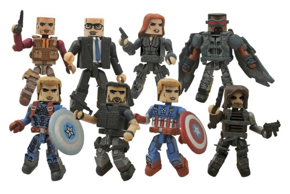 Diamond Select Toys Products Shipping June 4th, 2014