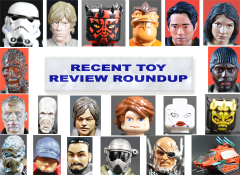 Recent Toy Review Roundup – Star Wars, LEGO Star Wars, The Walking Dead, G.I. JoeCon 2014 Exclusives, MOTUC