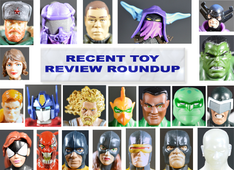 Recent Toy Review Roundup – G.I. Joe FSS 2.0, MOTUC, Marvel, Transformers, DC