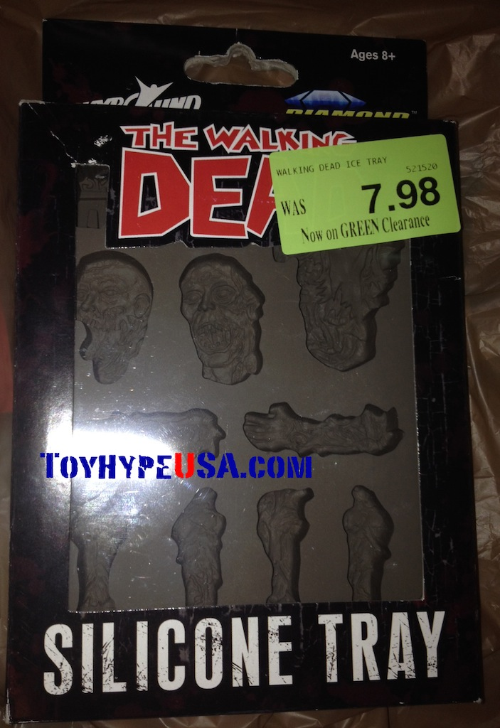 The Walking Dead Silicone Tray Review