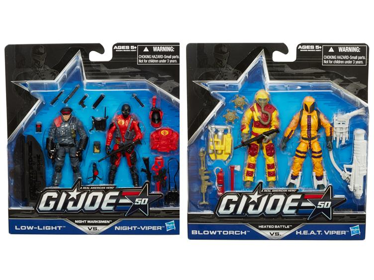 EE Update – G.I. Joe 50th Anniversary 2-Packs Waves 1 & 2 Listed At $12.75 Each