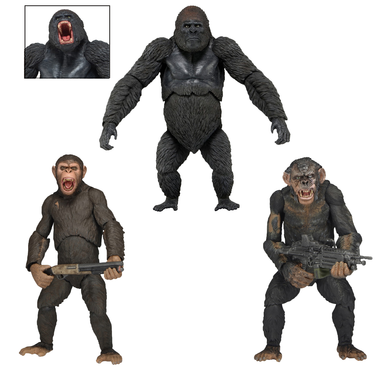 NECA Shipping This Week – Alien Queen & Dawn Of The Planet Of The Apes Series 2