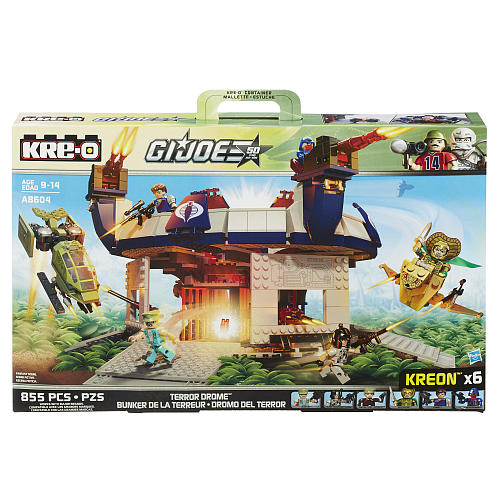 """Toys """"R"""" Us Slashes Prices Up To 50% On All G.I. Joe Kre-O & 50th Anniversary Sets"""