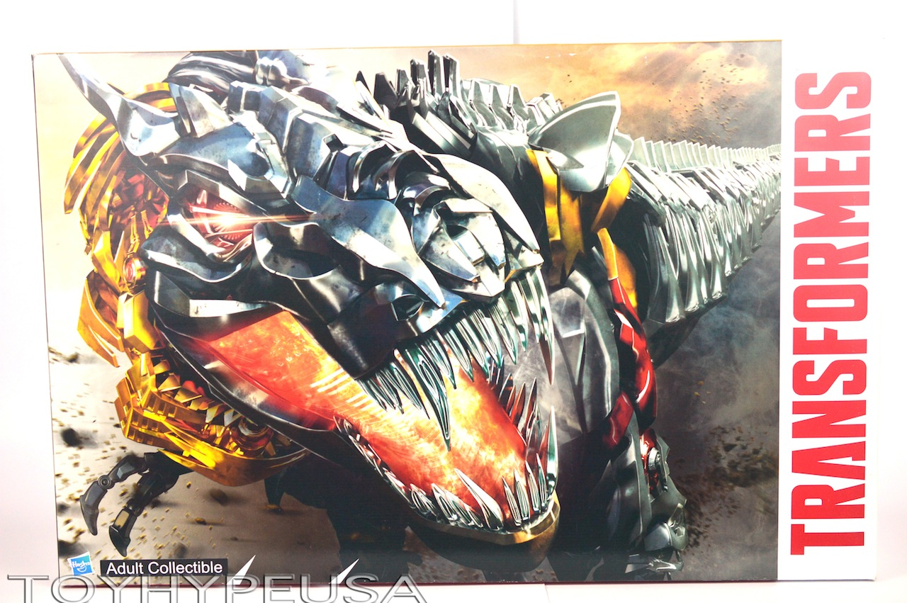SDCC 2014 Exclusive Hasbro Transformers Dinobots Set With Pop-Up Headquarters Review