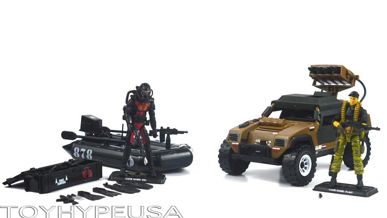 """SDCC 2014 Toys """"R"""" Us Exclusive G.I. Joe Danger At The Docks Review"""