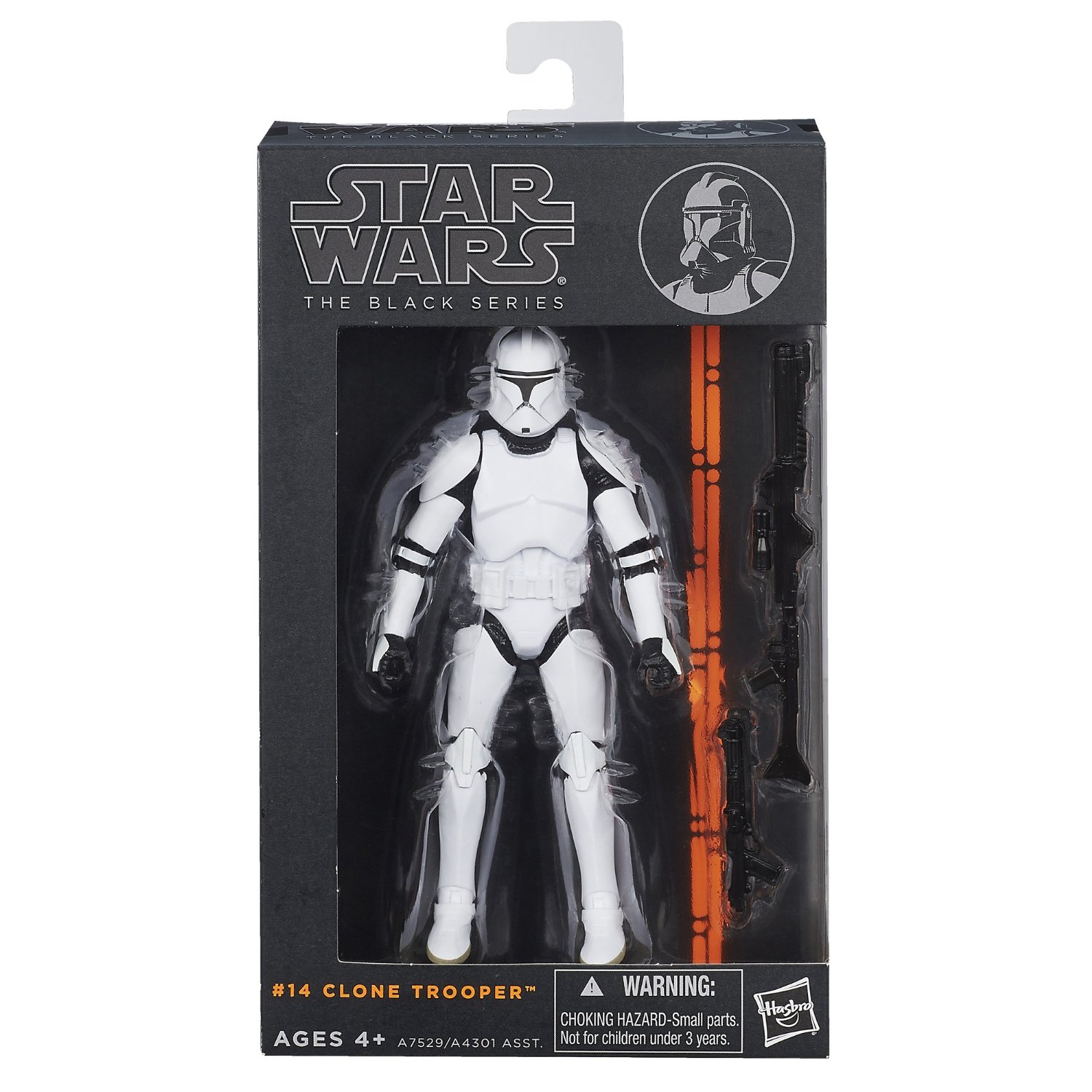 Star Wars The Black Series 6″ Clone Trooper Figure $13.59 + Free Shipping