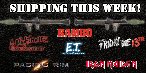 NECA Shipping Update: Pacific Rim, Rambo, E.T., Friday the 13th And More