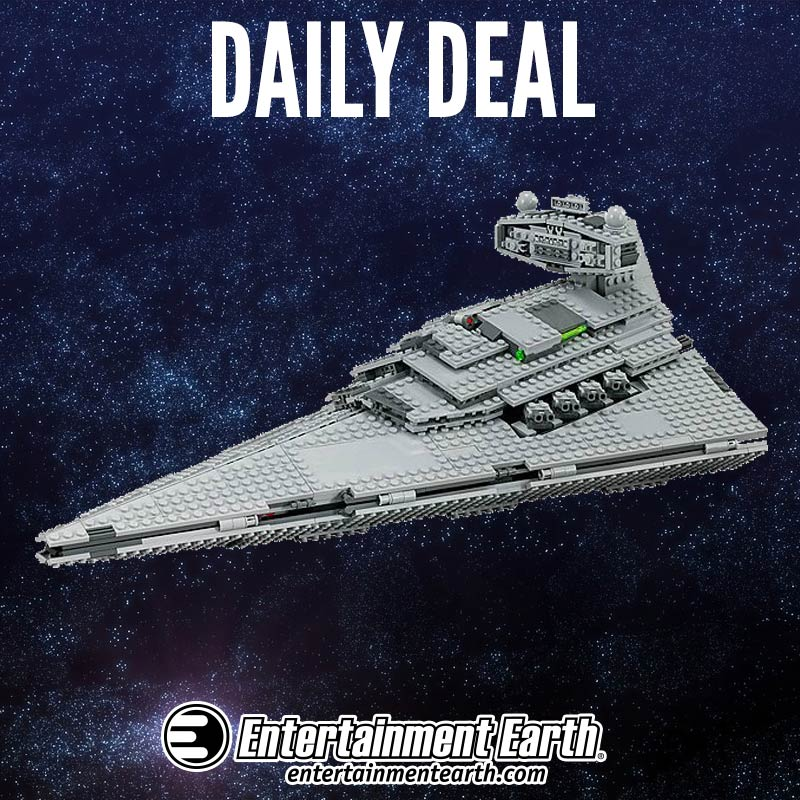 Star Wars LEGO Sets 20 Percent Sale Today Only At Entertainment Earth