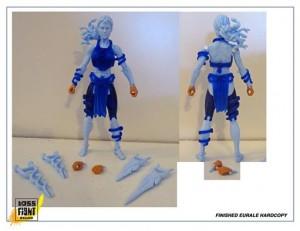 Boss Fight Studio Vitruvian H.A.C.K.S. Gorgon Sister Eurale Prototype