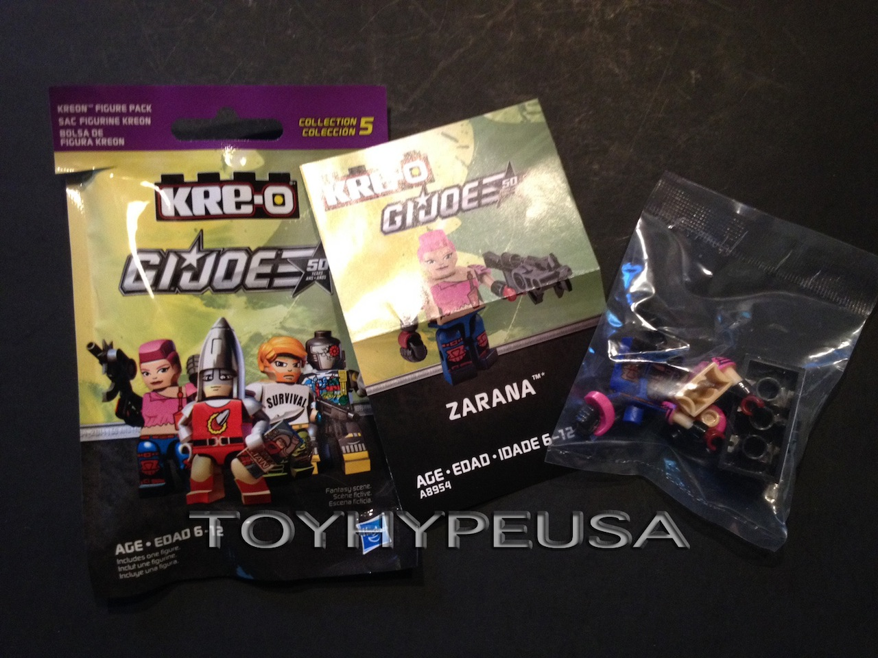 ToyHypeUSA Store – G.I. Joe Kre-O Collection 5 Figures Listed At $4.00 Each