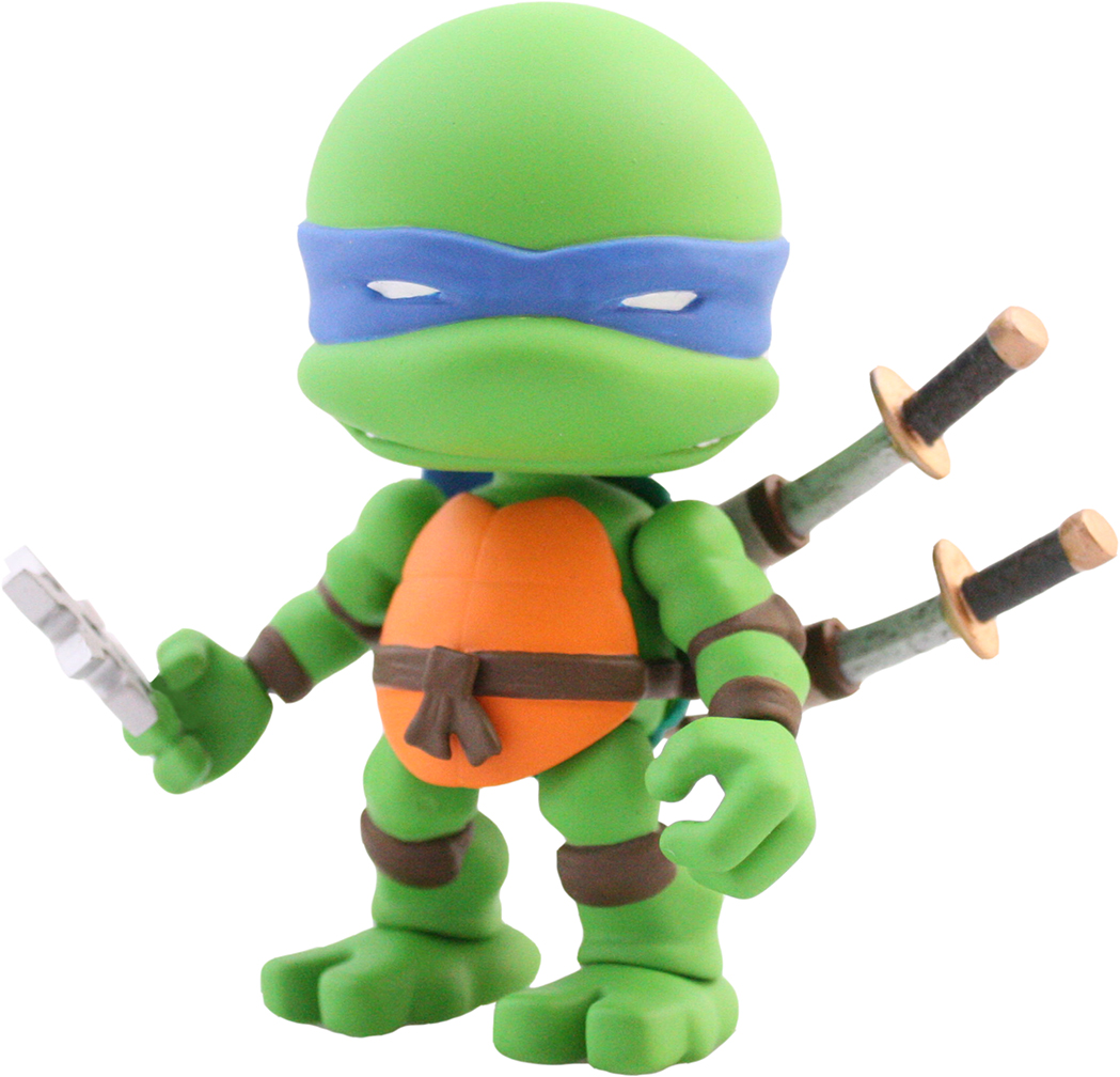 Teenage Mutant Ninja Turtles 3″ Tall Vinyl Figures From The Loyal Subjects